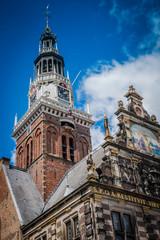 Historische Altstadt in Alkmaar Nordholland Niederlande