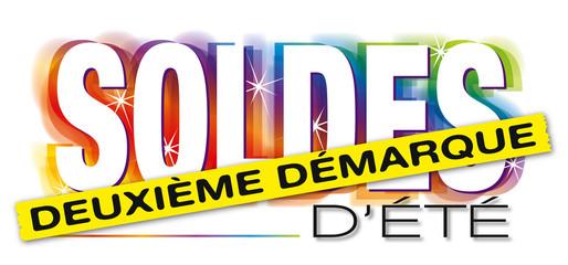 Photos illustrations et vid os de logo soldes - Soldes deuxieme demarque ...