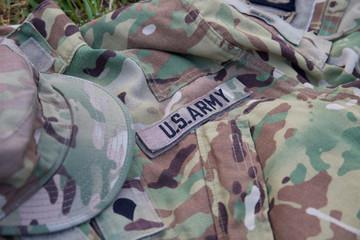 Military cap and uniform