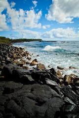 Rocky Coast of the East Side of Hawaii Island