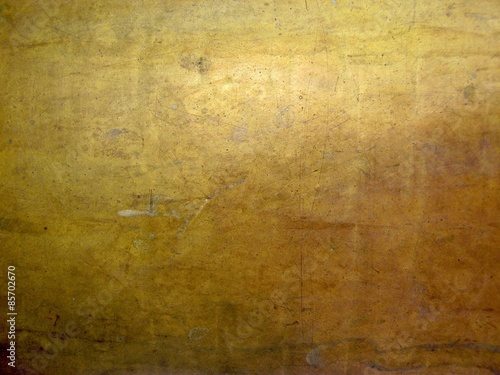 Wall mural bronze metal texture with high details