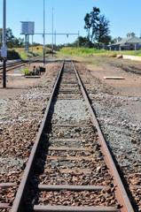 Cullinan Diamond Mine Railroad Tracks - South Africa