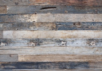 Modern wooden fence background