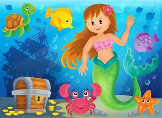Mermaid theme image 3