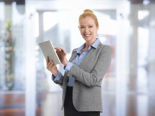 Mature businesswoman portrait