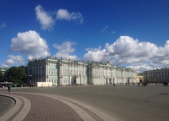 Hermitage, Winter Palace. One of the largest and oldest museums in the world