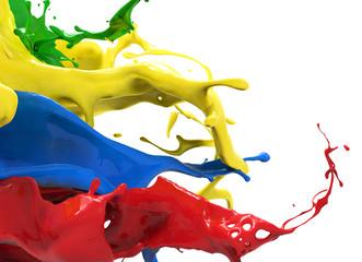 Wall Mural - color splash