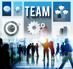 Team Teamwork Corporate Community Community Concept
