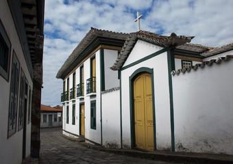 Casa em que Chica da Silva Viveu com o contratador João Fernandes em Diamantina - Minas Gerais