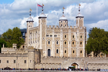 Tower of London in City of London - London UK