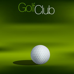 Golf Background All elements are in separate layers and grouped.