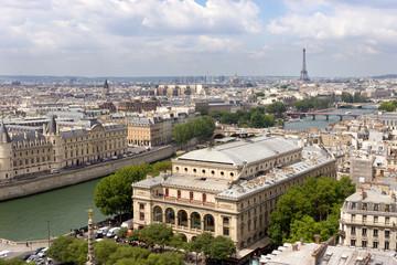 View over Paris, France