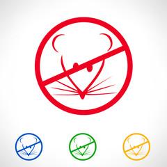 no rat vector symbol