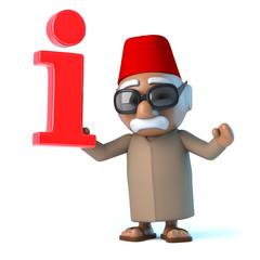 3d Moroccan has information