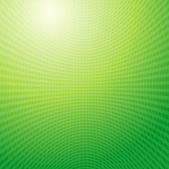 Vector design pattern. Green waves Grid abstract light backgroun