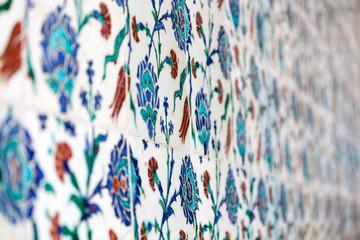 Ottoman Cini tiles in Topkapi Palace