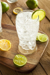Refreshing Lemon and Lime Soda