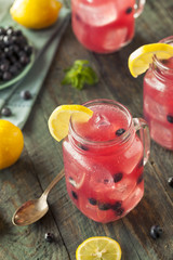 Organic Sweet Blueberry Lemonade