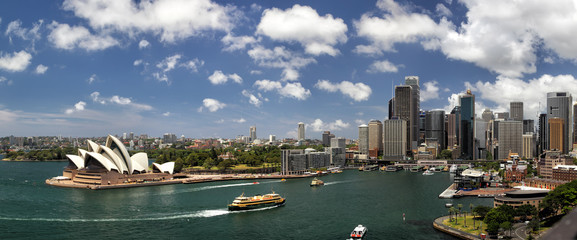 Photo sur Plexiglas Sydney Sydney Panorama