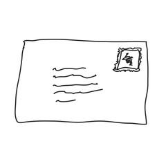 Simple doodle of an envelope