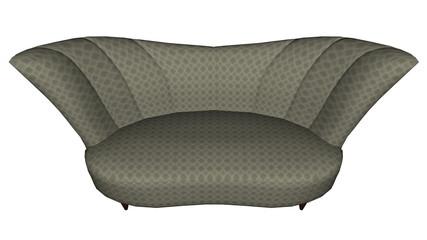 Big seat - 3D render