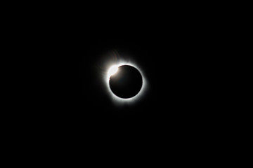 Diamond Ring During Total Solar Eclipse