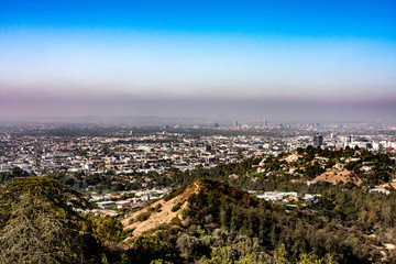 Blick vom Griffith Observatory