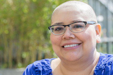 Cancer Patient Deals With Hair Loss