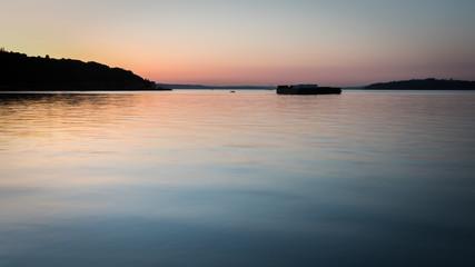 Puget Sound at Sundown