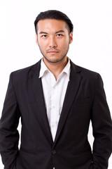 portrait of confident, successful businessman