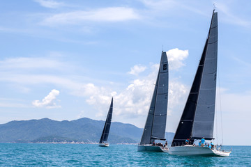 SAMUI REGATTA 2015, THAILAND - MAY 30 : Event at Chaweng beach ,