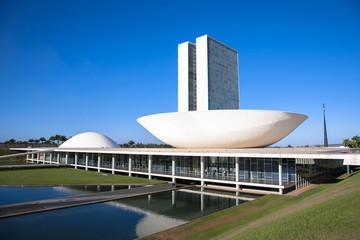 Wall Mural - ブラジリアの国会議事堂