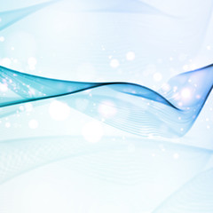 Abstract water background,  wave illustration