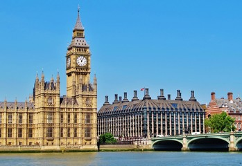 Big Ben, Parlament, Westminster-Brücke