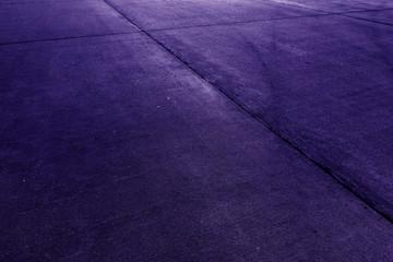 Concrete floor aircraft runaway background purple