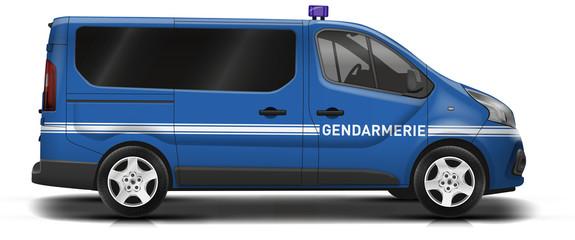 Camionnette gendarmerie new 08