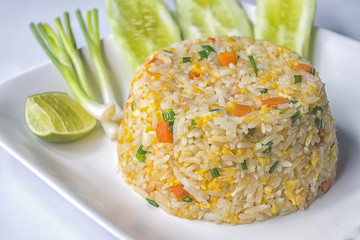 fried rice is Thailand delicious food