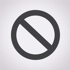 blank ban icon