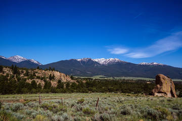 Collegiate Peaks of the Sawatch Range of the Colorado Rockies