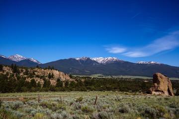 Collegiate Peaks of the Sawatch Range of the Colorado Rockies