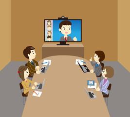 ビジネスチーム WEB会議