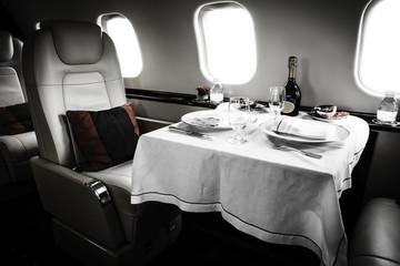 Luxury Business Jet Interior