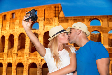 Honeymoon vacation in Rome