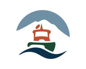 Sail Boat Ship Yachts Logo