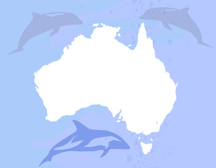 Australia With Dolphins