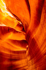 Inside the Upper Antelope Canyon
