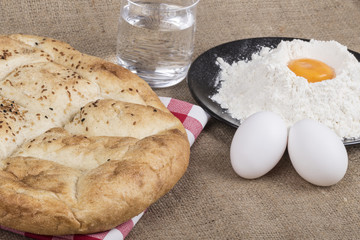 pita bread and its ingredients