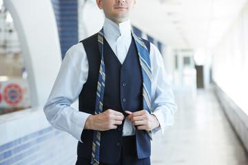 businessman dressed