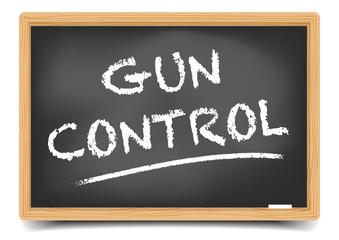 Blackboard Gun Control