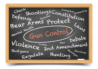 Wordcloud Gun Control